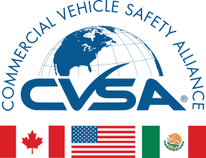 CVSA, Commercial Vehicle Safety Alliance.